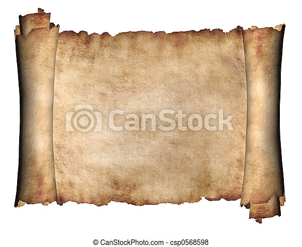 horizontais, manuscrito - csp0568598