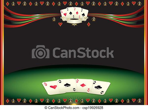 Horizontal cards background - csp19926928