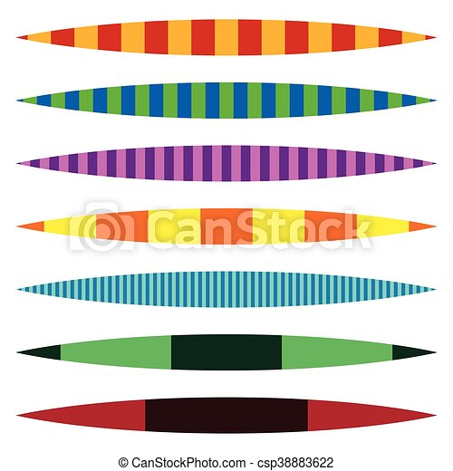 horizontal line dividers set of colorful duotone straight rh canstockphoto com Swirl Line Clip Art Decorative Horizontal Line Clip Art