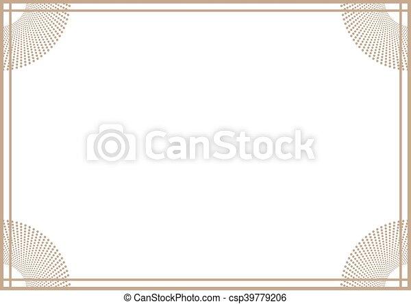 Creative design of horizontal nice frame.