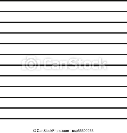 Horizontal parallel straight lines, stripes vector. vector ... Red Straight Line Vector