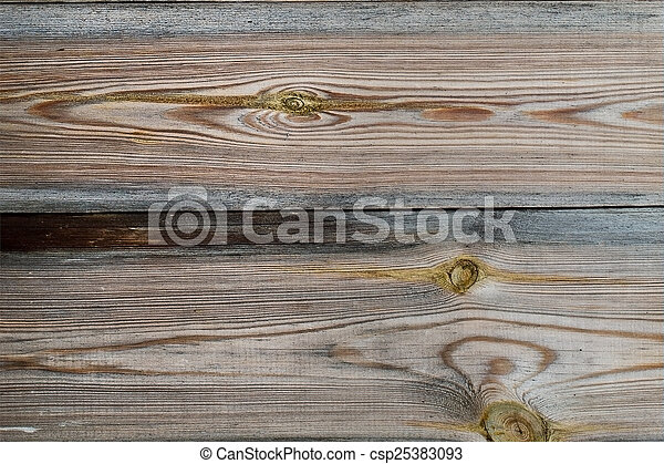 horizontal texture of old gray wooden boards - csp25383093