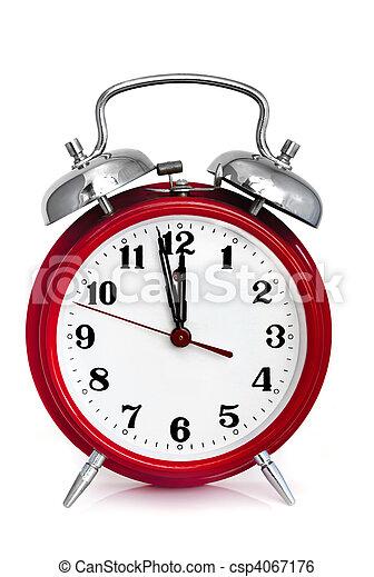 horloge, reveil - csp4067176