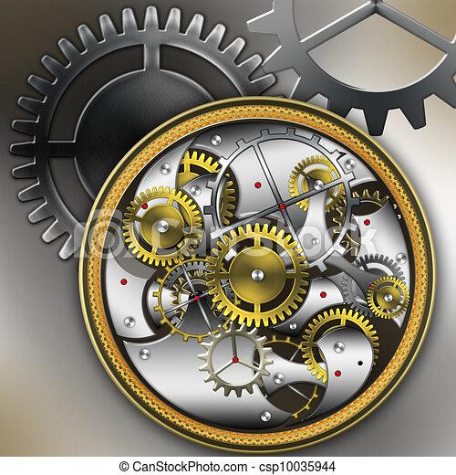 H R Mechanical Newfoundland Horloges, mecha...