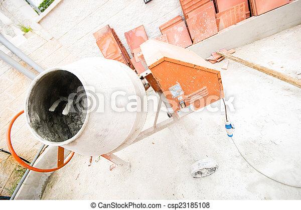 Mezcla de concreto - csp23185108