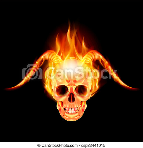 Horny devil - csp22441015