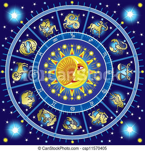 Horoscope circle - csp11570405