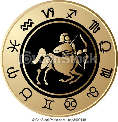 Horoscope Sagittarius - csp3402146