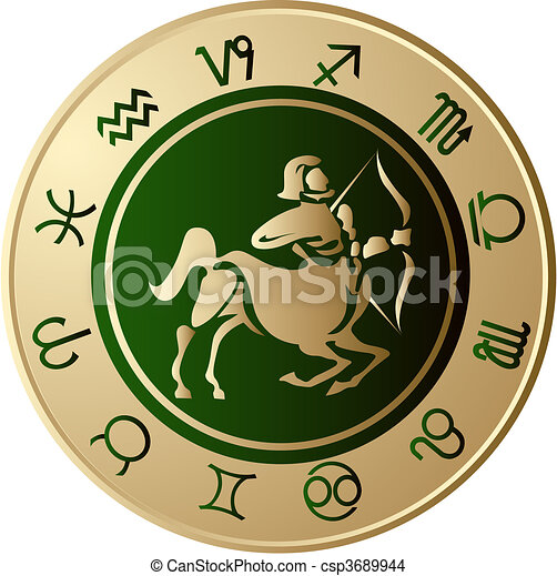 Horoscope Sagittarius - csp3689944