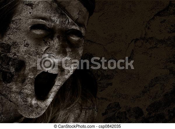 Grito de horror - csp0842035