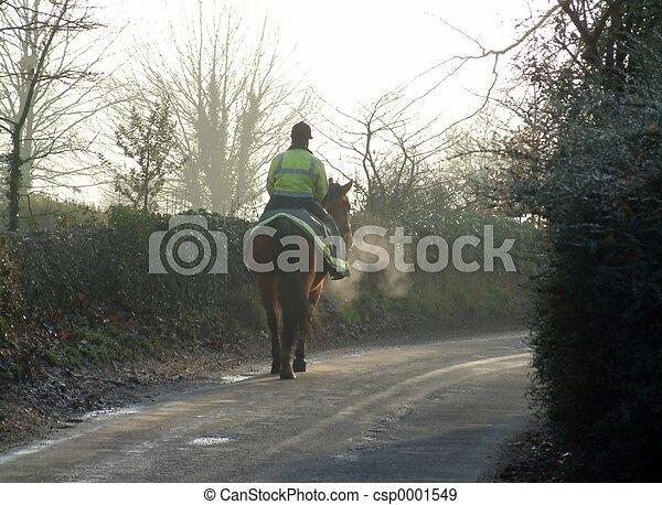 Horse and rider - csp0001549