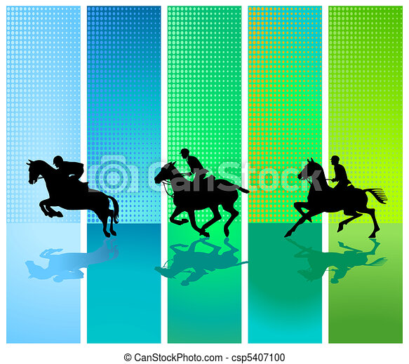 Horse competition - csp5407100
