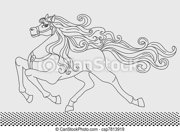 Horse  - csp7813919