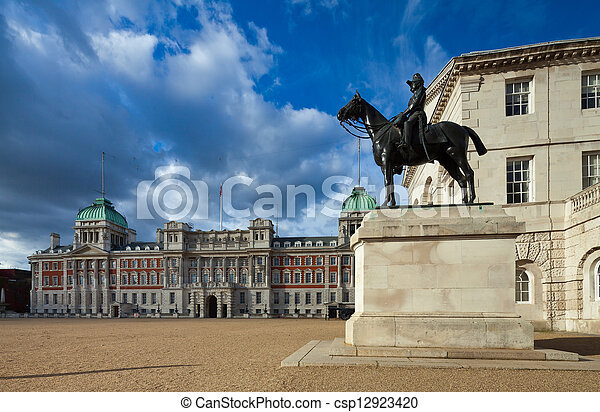 Horse Guards Parade buildings, London, UK - csp12923420