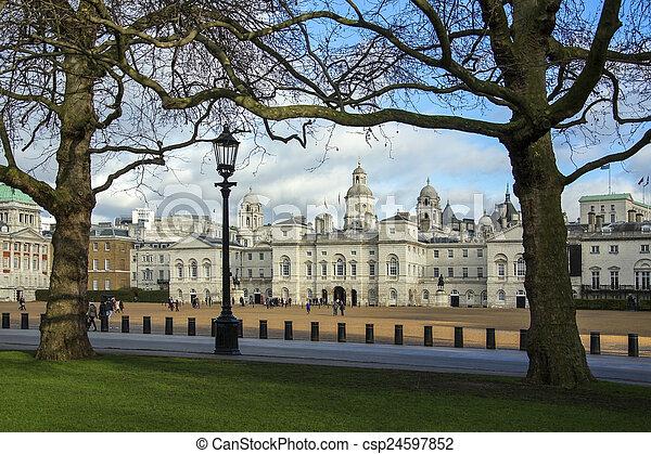 Horse Guards Parade - London - England - csp24597852