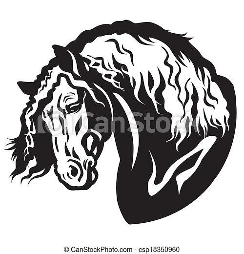 English Saddle Drawing