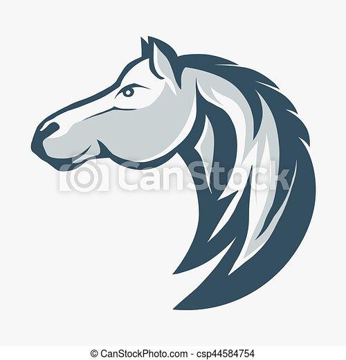 horse head vector horse head profile design animal graphic rh canstockphoto com horse head vector art free horse head vector png