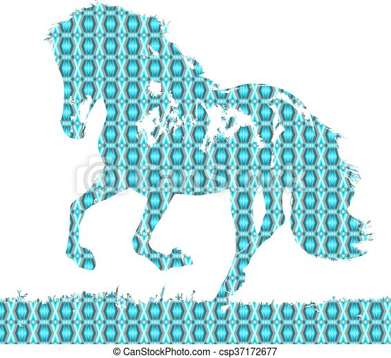 horse - csp37172677