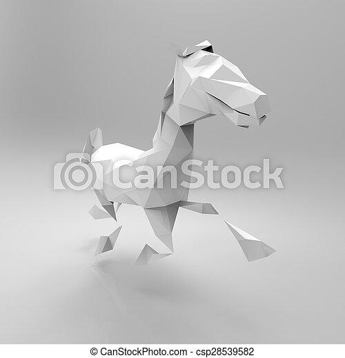 Horse - csp28539582