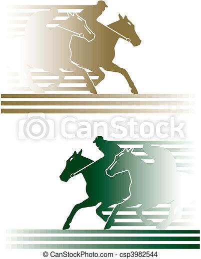 horse race - csp3982544