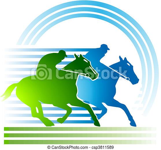 horse-racing - csp3811589