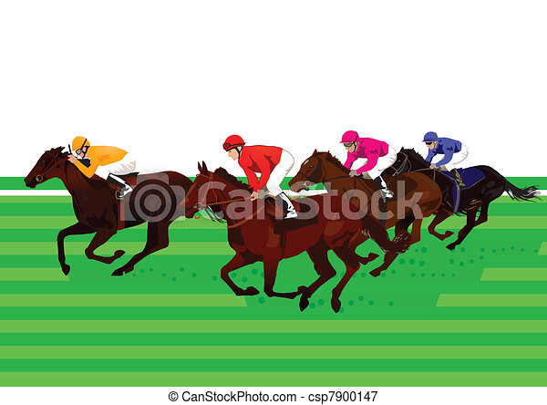Horse racing and Derby - csp7900147