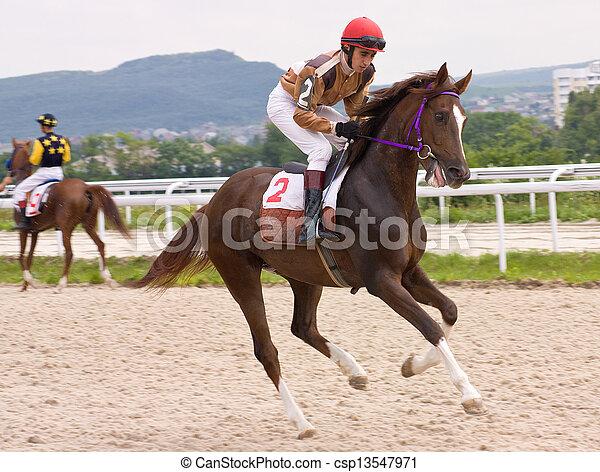 Horse Racing - csp13547971