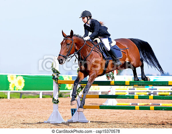 Horse racing. - csp15370578