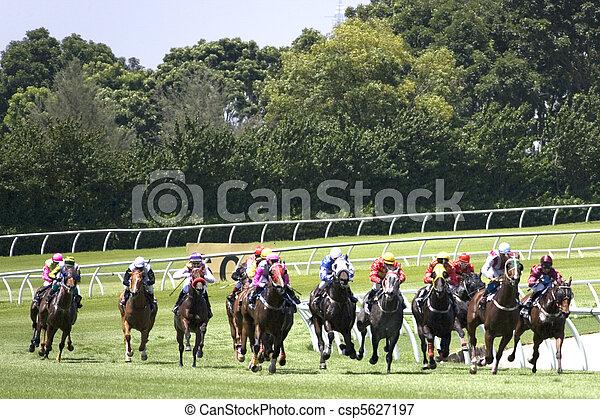 Horse Racing - csp5627197