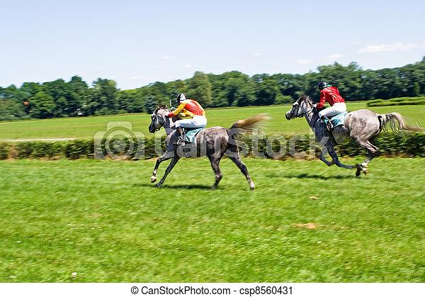 Horse racing - csp8560431