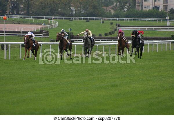horse racing - csp0207778