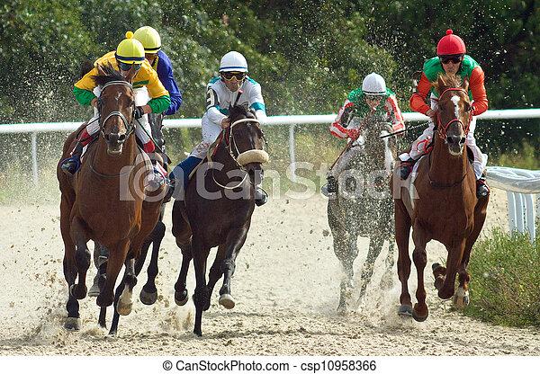 Horse racing. - csp10958366