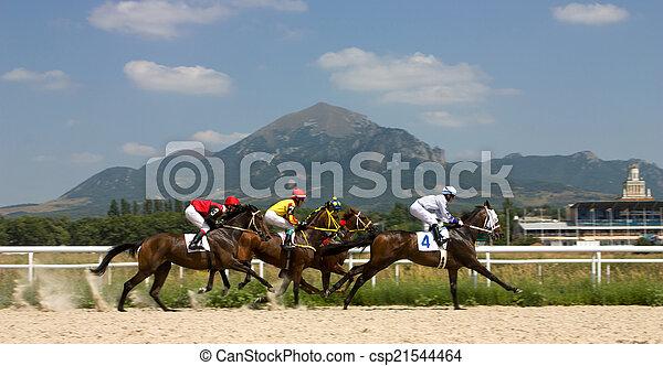 Horse racing - csp21544464