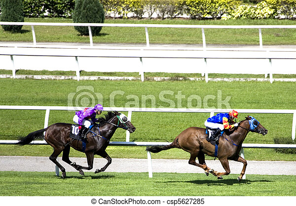Horse Racing - csp5627285