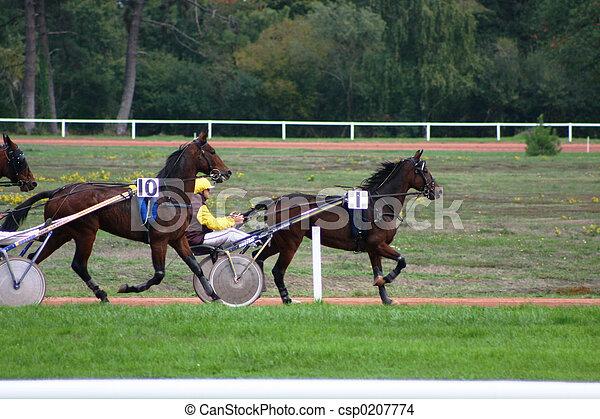 horse racing - csp0207774