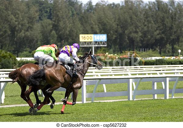 Horse Racing - csp5627232