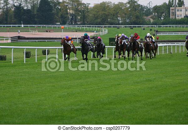 horse racing - csp0207779