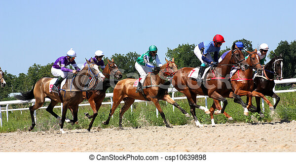 Horse racing - csp10639898