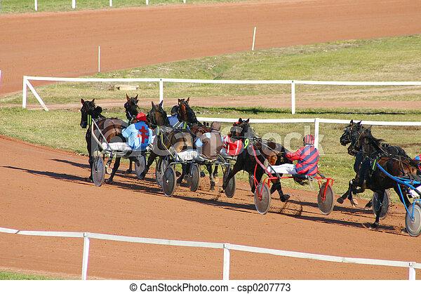 horse racing - csp0207773