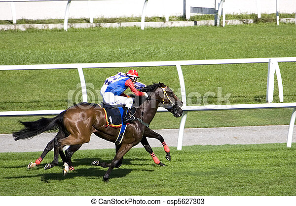Horse Racing - csp5627303