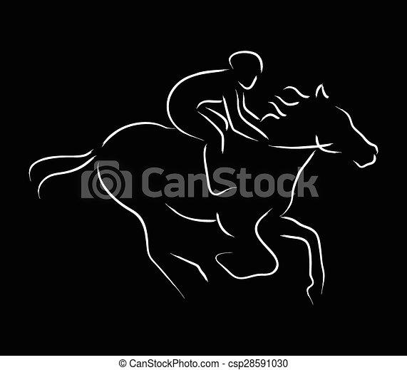 Horse Riding - csp28591030