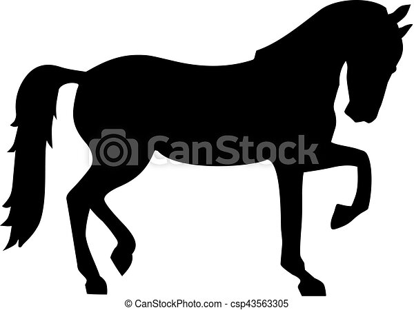 horse silhouette vector clipart search illustration drawings and rh canstockphoto com horse silhouette vector free download horse jumping silhouette vector