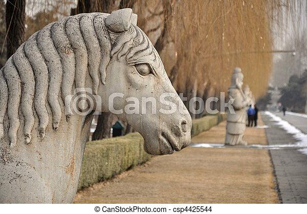 Horse Statue - csp4425544