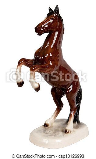 horse statuette - csp10126993