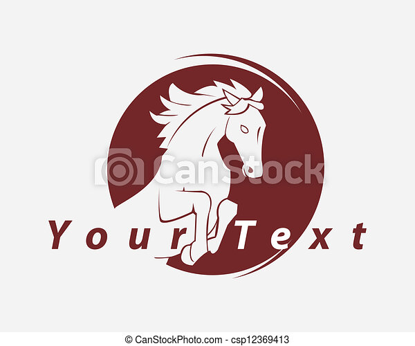 horse symbol - csp12369413