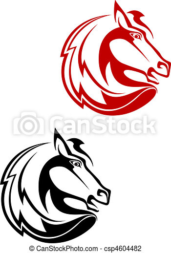 Horse tattoo - csp4604482