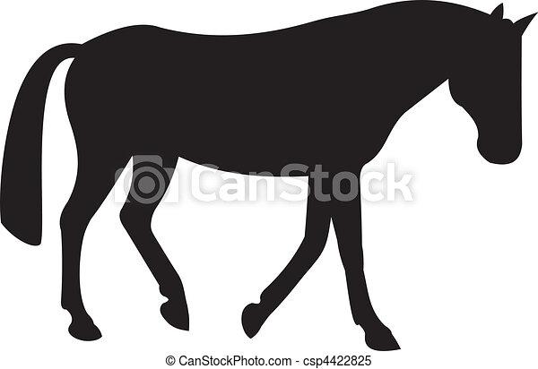 Horse vector - csp4422825