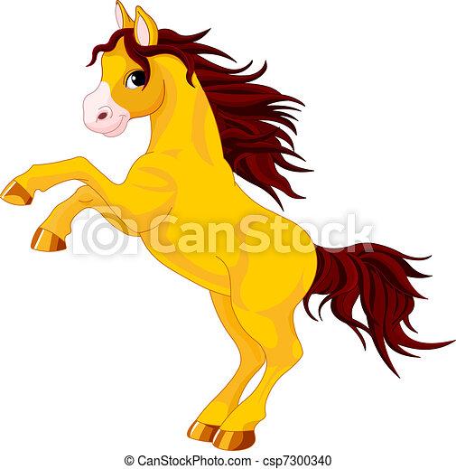 Horse - csp7300340