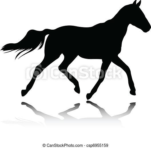 Horse - vector - csp6955159