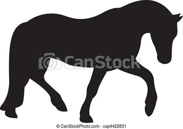 Horse vector - csp4422831